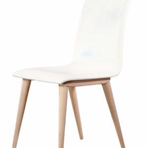 Καρέκλα Alfa white