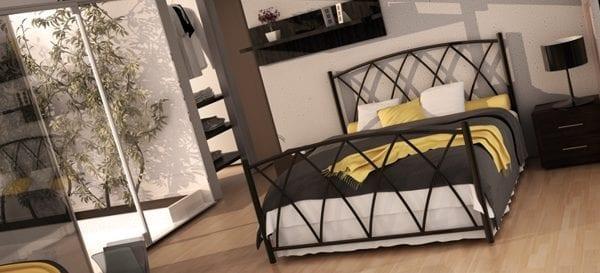 Μεταλλικό κρεβάτι 2