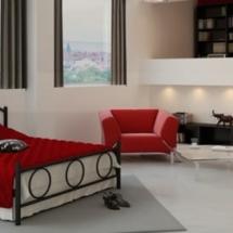 Μεταλλικό κρεβάτι 4