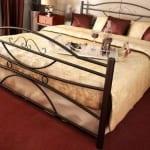 Κρεβάτι μεταλλικό 9, μαύρο