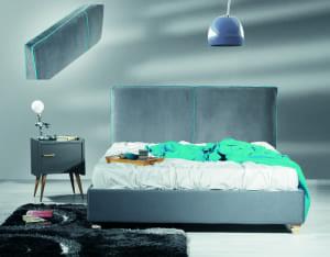 Ντυμένο κρεβάτι Akropolis