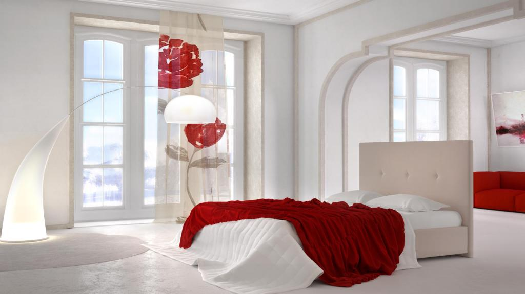Ντυμένο κρεβάτι elena