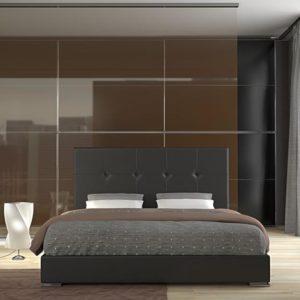 Ντυμένο κρεβάτι ferio