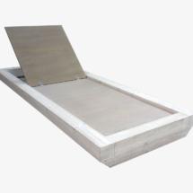 ξαπλώστρα ξύλινη 8